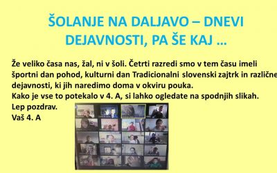Oglasili so se nam 4. A